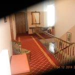 Hallway in hotel