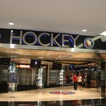 entrance to The hockey hall of fame