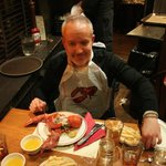 Marco poma all'Oyster House di Boston