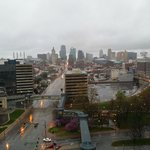 Beautiful view of down town Kansas city