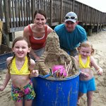 sandcastle lessons with Andy