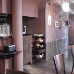 area de serviço para o cafe da manha