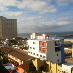 View to Rosarito Beach Hotel from Festival Plaza Hotel