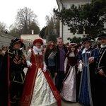 Eggenberg castle in Cesky Kromlov, Spring opening ceremony