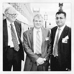 House of Lords Balcony overseeing the Thames, Lord Luce on the right, Prof John Clarke