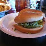 Green Chili Cheeseburger!