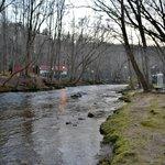 Chattahoochee River Behind Motel