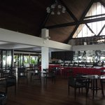 beautiful dining room/breakfast as well