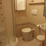 Bathroom with hydroshower