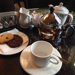Delightful tea service in the bar