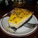Cheeze cake passion fruit