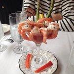 Cocktail des crevettes
