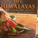 Cookbook published by Taste if the Himalayas, Berkeley