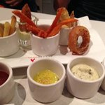delicious sides and dipping sauces!