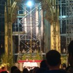 Altar da St. Patrick - domingo de ramos 2014