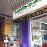 the shop front for Voodooz