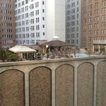 What a tease!  Fairmont Roosevelt Hotel pool across the street