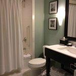 Spacious and homey bathroom