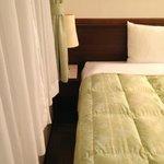 Toyoko Inn Osaka Itami, Room--area to left of bed