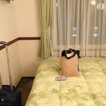 Toyoko Inn Osaka Itami, Room--area in front of bed