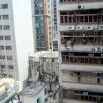 My room faced a small side street (Saigon Street,) not Nathan Road.