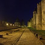 Carcassonne Cite at Night