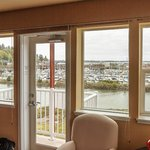 View from master bedroom of Pilot House