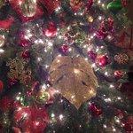 クリスマスツリーにモンステラの葉!