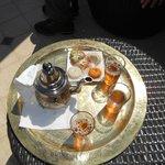 thé & gateaux de bievenue