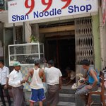 Renovations at 999 Shan noodle house