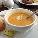 Freshly made soup