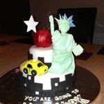 My NYC 40th cake