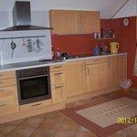 Wohnung-Küche