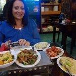 Eating at Chinese Tavern
