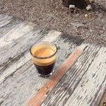 Espresso im Prinzessinnengarten