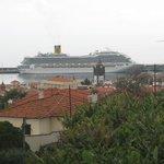 Vista da marina do Funchal a partir do quarto