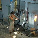 Arbeit der Glasbkünstler mitverfolgen