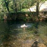 en la confluencia del río Parrote y el Eume