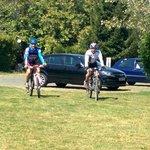 volviendo de una ruta en bici