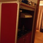 kitchen booth in room
