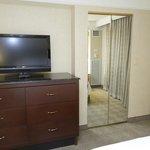 Jr Suite Bedroom TV + Closet