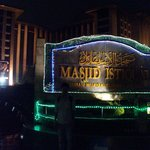 welcome to Istiqlal Mosque Jakarta