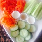 Fresh Veggies & Dip