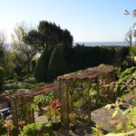 Beautiful gardens with magnificent coastal views