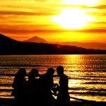 Un tramonto affascinate a las canters
