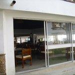 Blick in das Frangipani-Restaurant