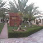 outside the rooms