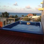 Roof top pool what a view