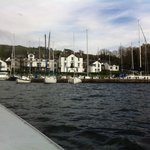 View from  waterbus Lake Windermere