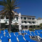 Hotel from Sun Lounger area